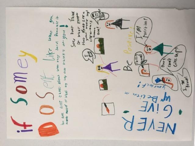 Grace Paynter positive poster