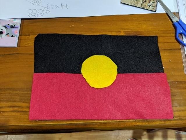 Aboringinal flag
