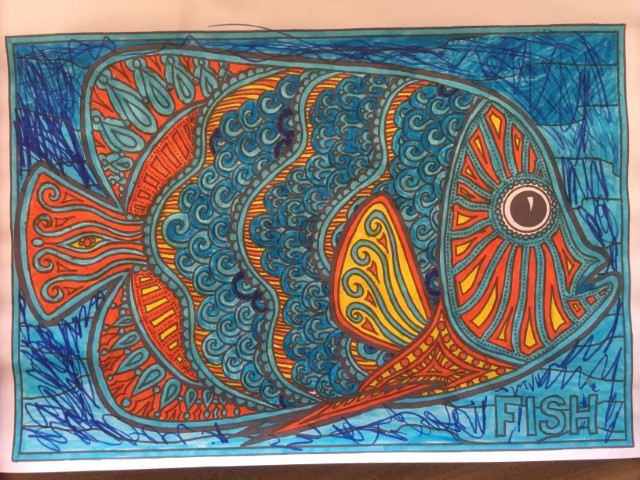 Anusheh fish colouring