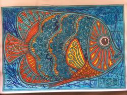 Anusheh fish colouring