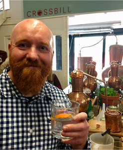 Gin school with Crossbill Gin at the BAad in Glasgow