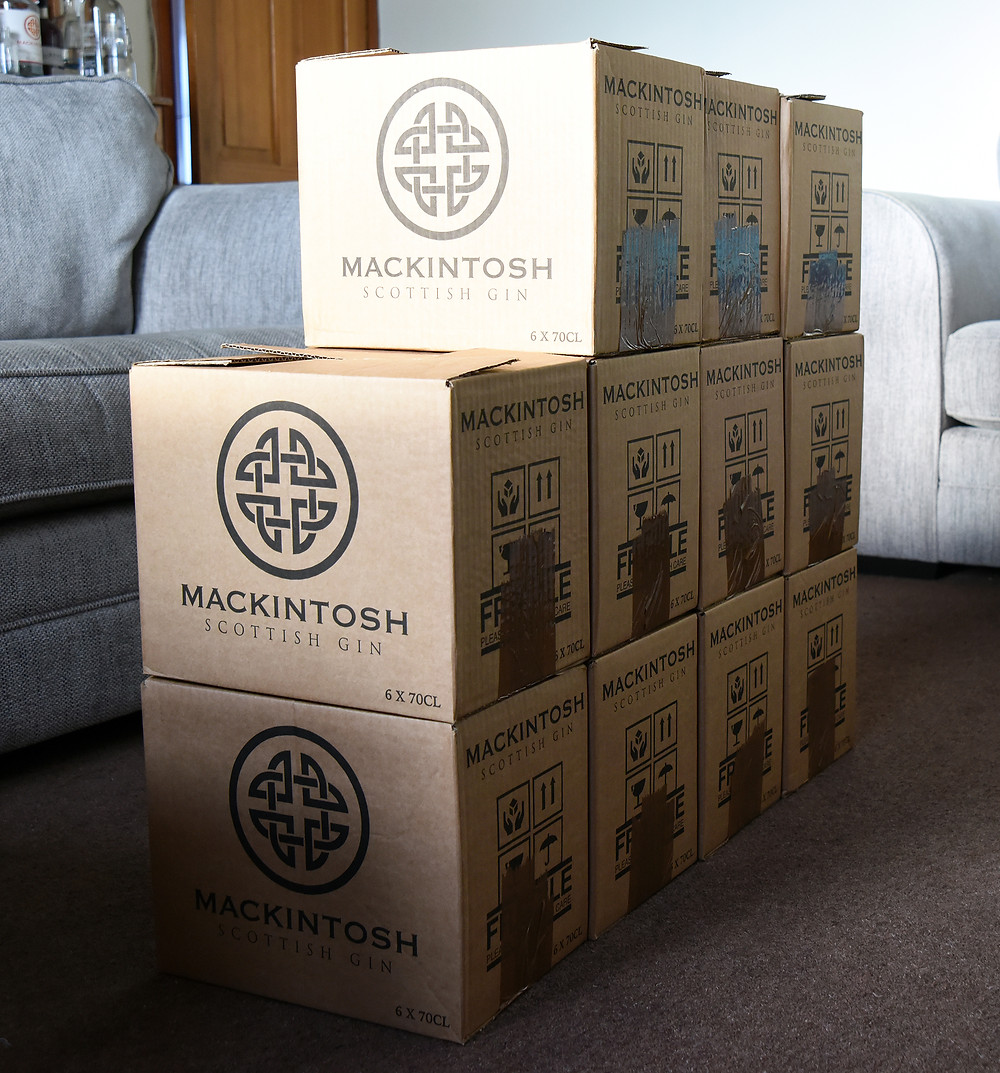 Mackintosh Gin last 66 bottles from batch 1
