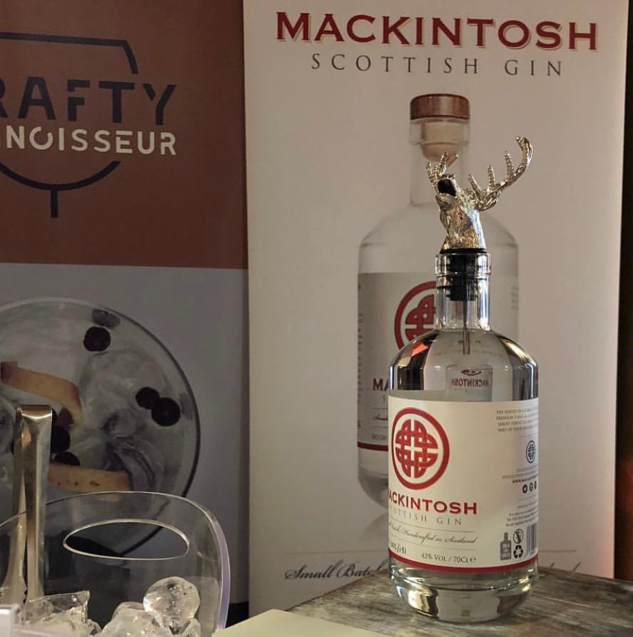Mackintosh Gin at the West Coast Fest in Troon run by J&J Event Bars