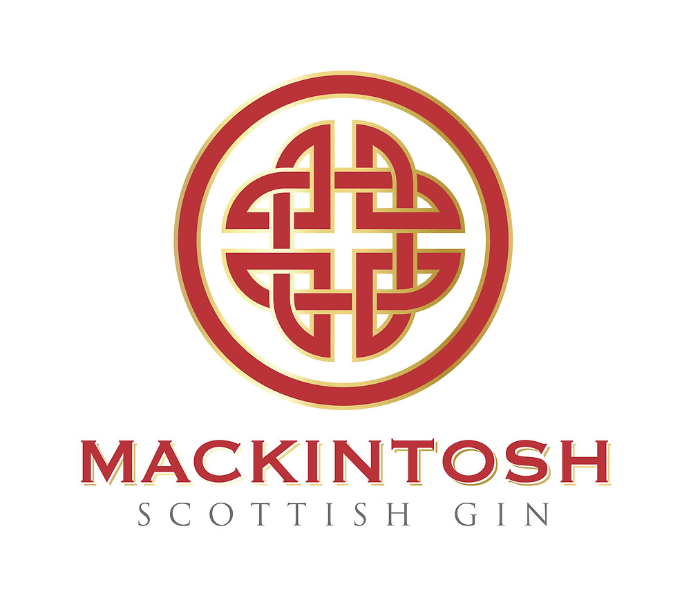 The Meigle Knot,  known as The Lovers Knot as used for the logo by Mackintosh Gin