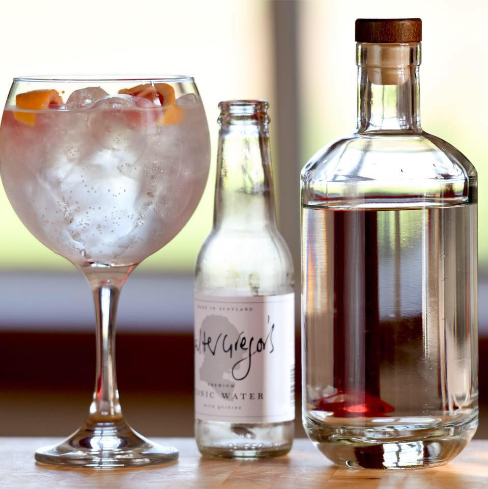 Walter Gregors Tonic Water paired with Mackintosh Gin
