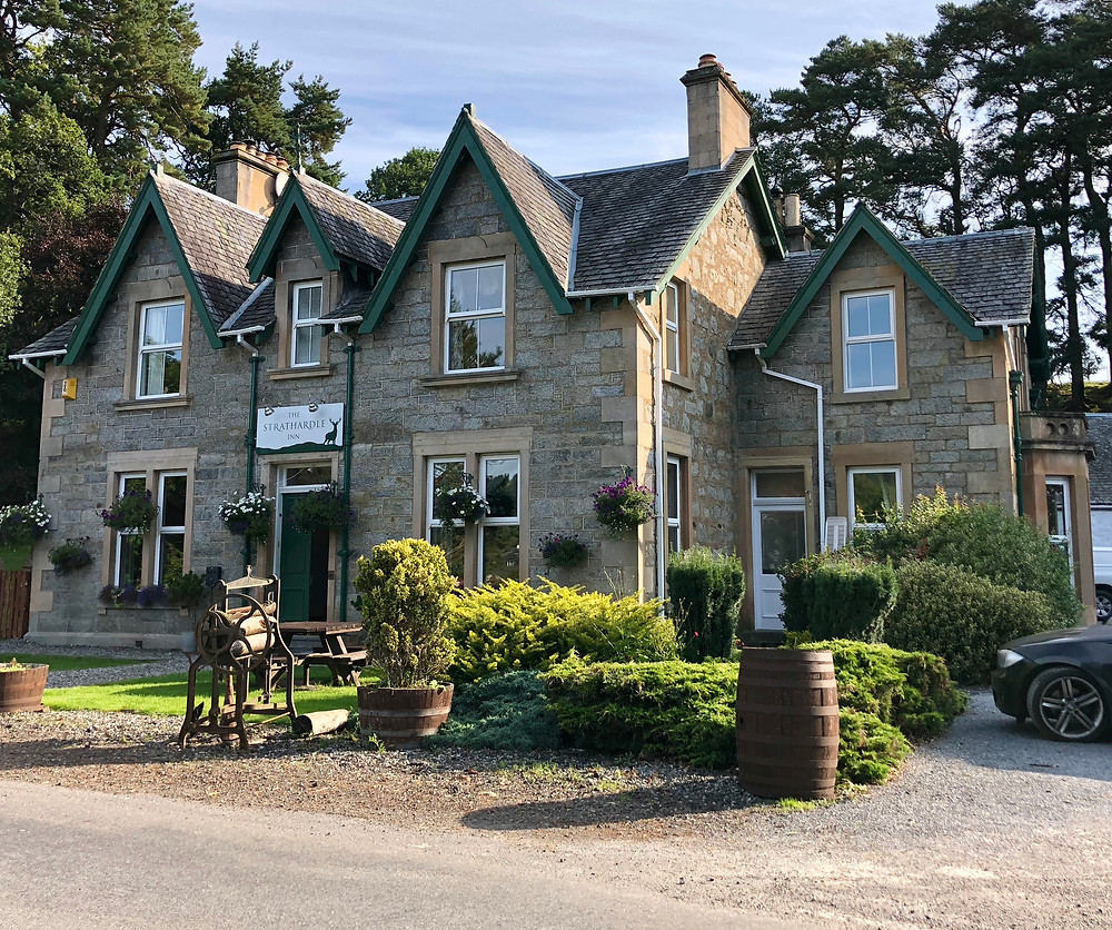 The Strathardle Inn near Glenshee and Blairgowrie