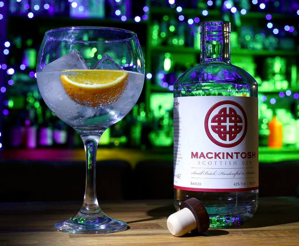 Gin and Tonic with Mackintosh Scottish Gin aka the G&T