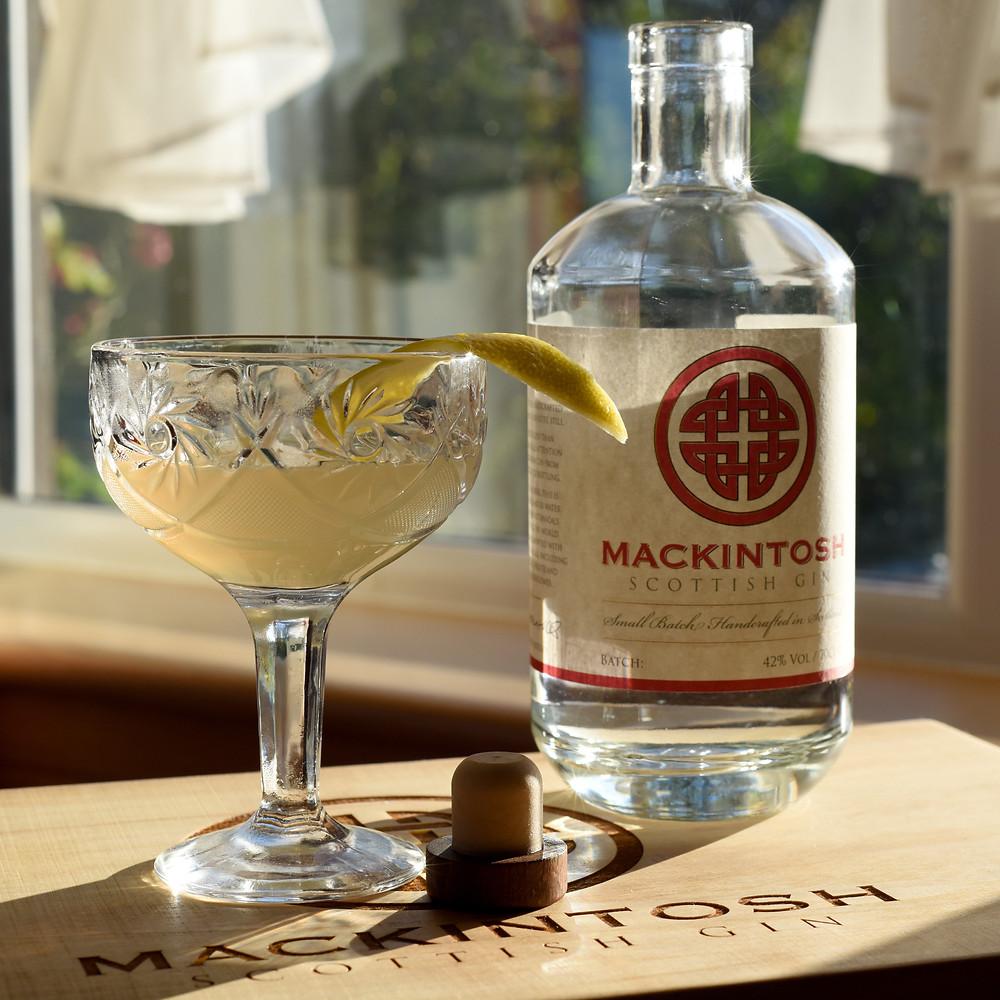 Mackintosh Gin Fitzgerald cocktail