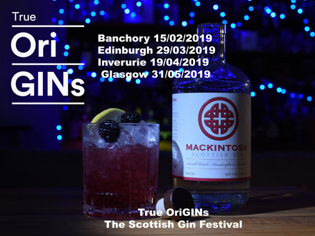 True OriGINs, The Scottish Gin Festival