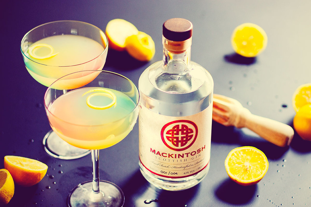 Mackintosh Gin Fitzgerald cocktail made by The Gin Cooperative and designed by Draffens bar in Dundee