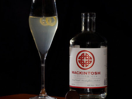 Gin Cocktail: The Mackintosh 75