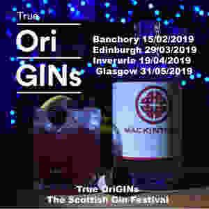 Mackintosh Gin Bramble cocktail at True OriGINs gin festival