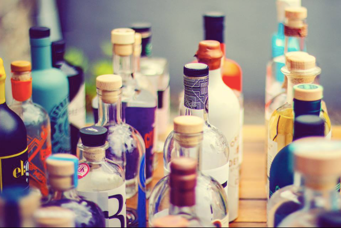 Scottish gin and premium Scottish gin as found on The Gin Cooperative website