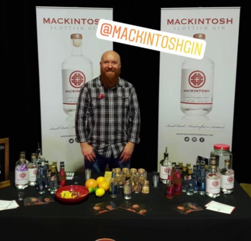 Mackintosh Gin debut on the gin festival scene in Dundee with The Gin Fest