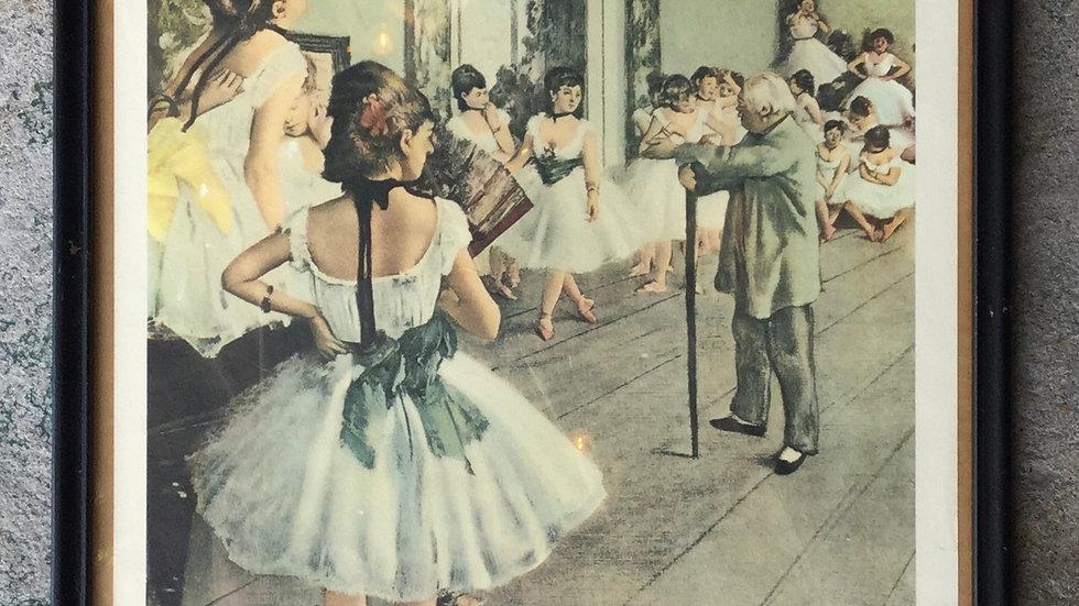 Dancing Lesson Print