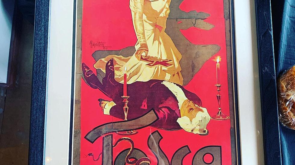 Tosca Italian Opera Print