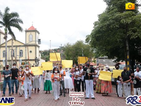 Manifestação dia da CONSCIÊNCIA NEGRA em Paraíba do Sul