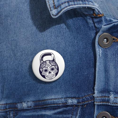 DOTD kettlebell. Custom Pin Buttons
