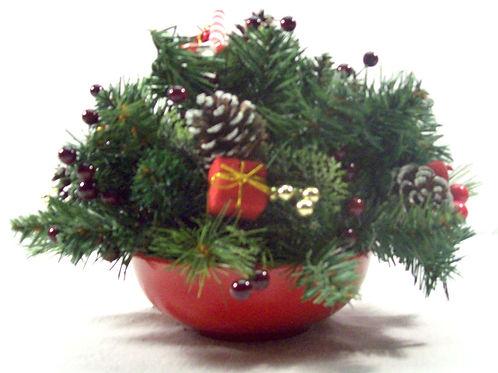 Christmas Bowl Arrangement