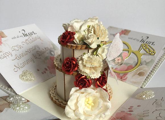 Wedding Anniversary Exploding Box