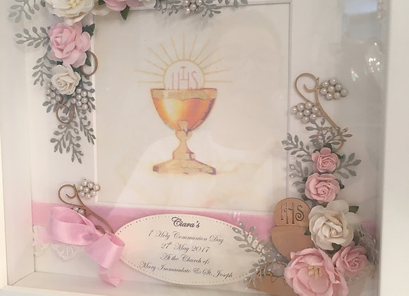First Holy Communion Shadow Box