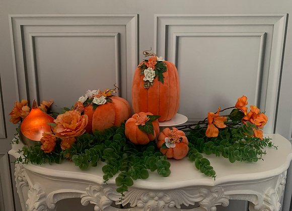 Posh Pumpkins (Set of 4)