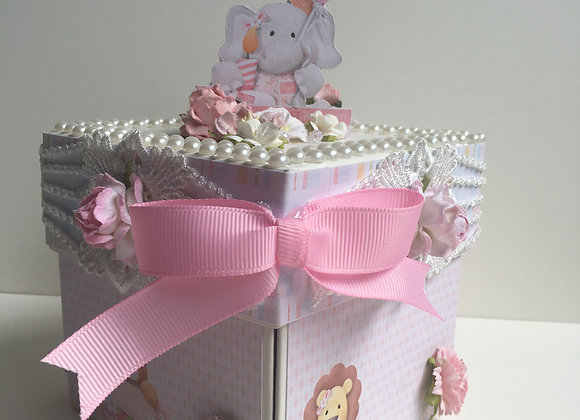 Baby Girl Exploding Box