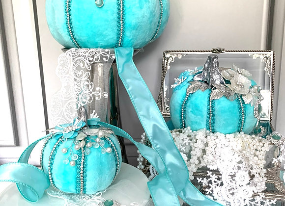 Tiffany Posh Pumpkins (Set of 3)