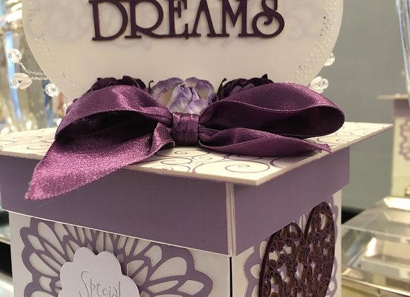Purple Dreams Exploding Box