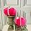 Thumbnail: Hot pink set of two Posh Pumpkins