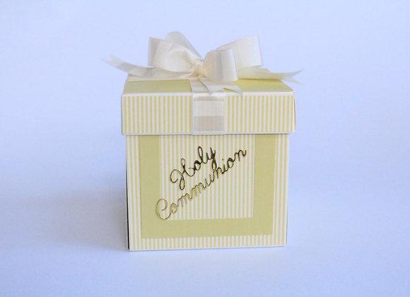 Communion Expoding Box with Bow