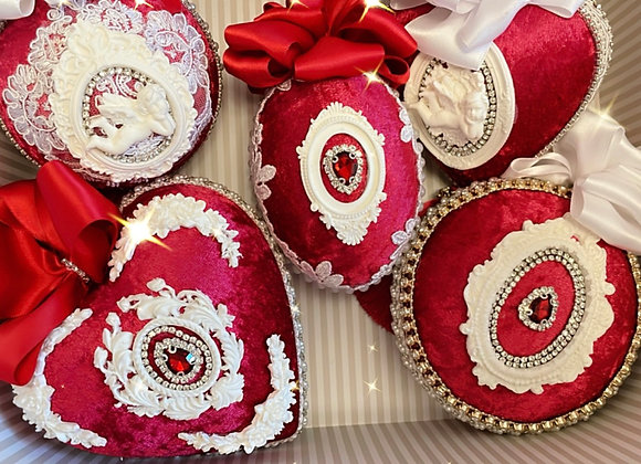 Traditional Red Heirloom Baubles