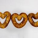 Mini Pretzel Hearts (vegan)