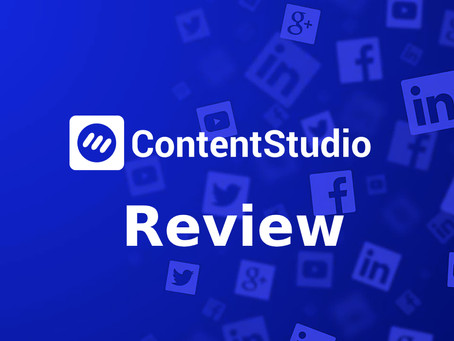 Contentstudio Review - Could this be the best social media marketing platform out there!