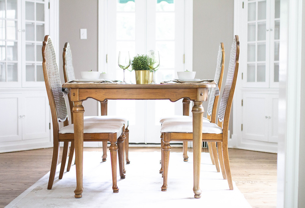 Beautiful neutral dining room