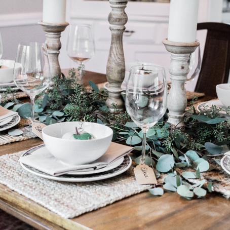 6 Tips for Setting A Beautiful Fall Table