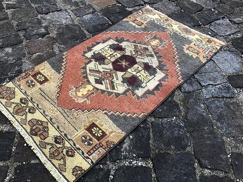 Mini Vintage Turkish Rug