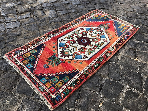 Mini Vintage Turkish Rug