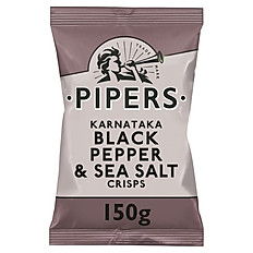 Pipers - Black Pepper and Sea Salt