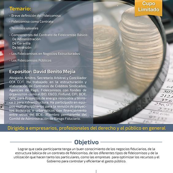 Conferencia: EL FIDEICOMISO: Herramienta para gestionar el financiamiento de proyectos