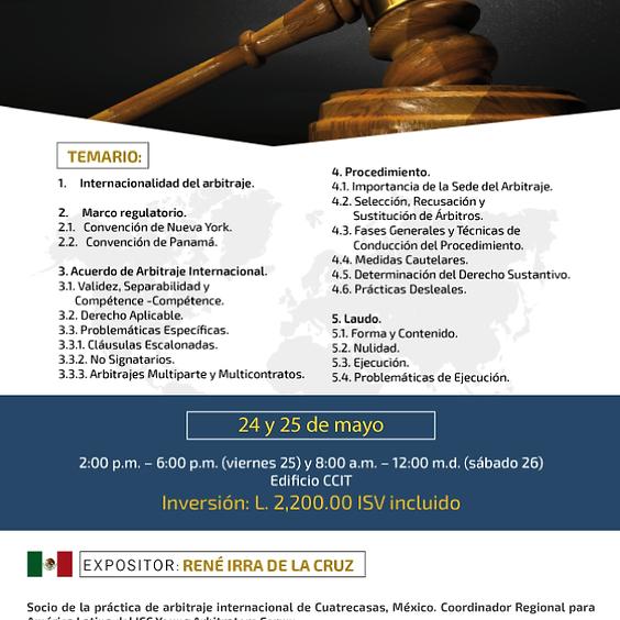 Capacitación Arbitraje Internacional