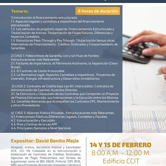 """Capacitación """"Negocios Estructurados: Contratos Utilizados en Financiamiento de Proyectos"""""""