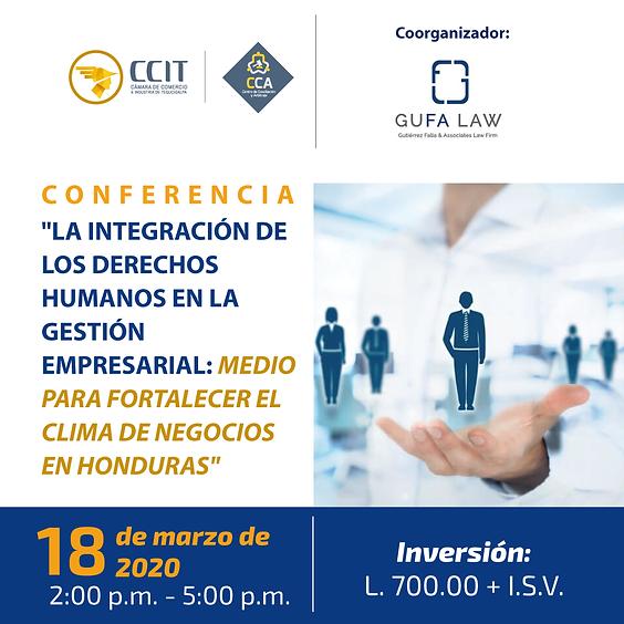 Conferencia Integración de los Derechos Humanos en la Gestión Empresarial