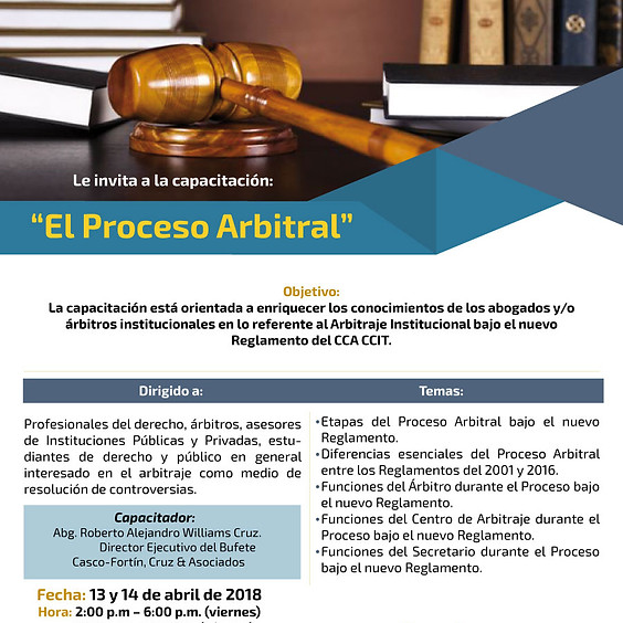 El Proceso Arbitral
