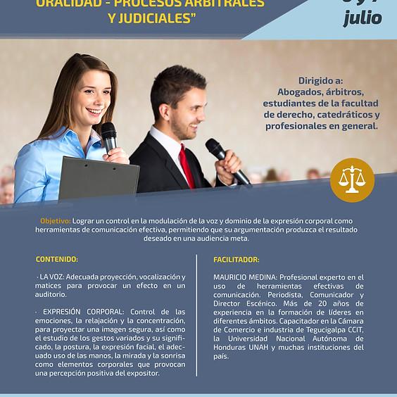 Buenas Prácticas en Técnicas de Oralidad- Procesos Arbitrales y Judiciales