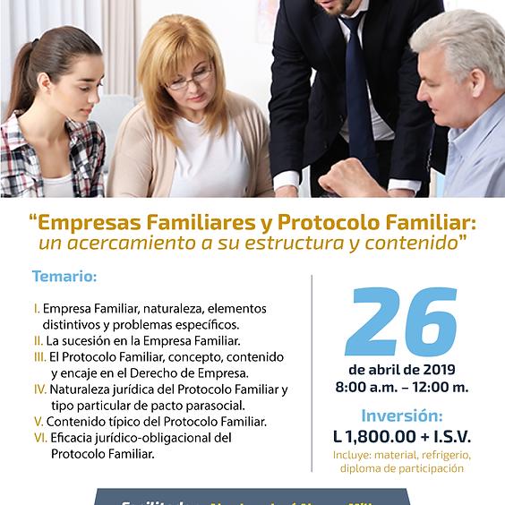 Capacitación Empresas Familiares y Protocolo Familiar