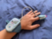 WatchPAT with finger probe