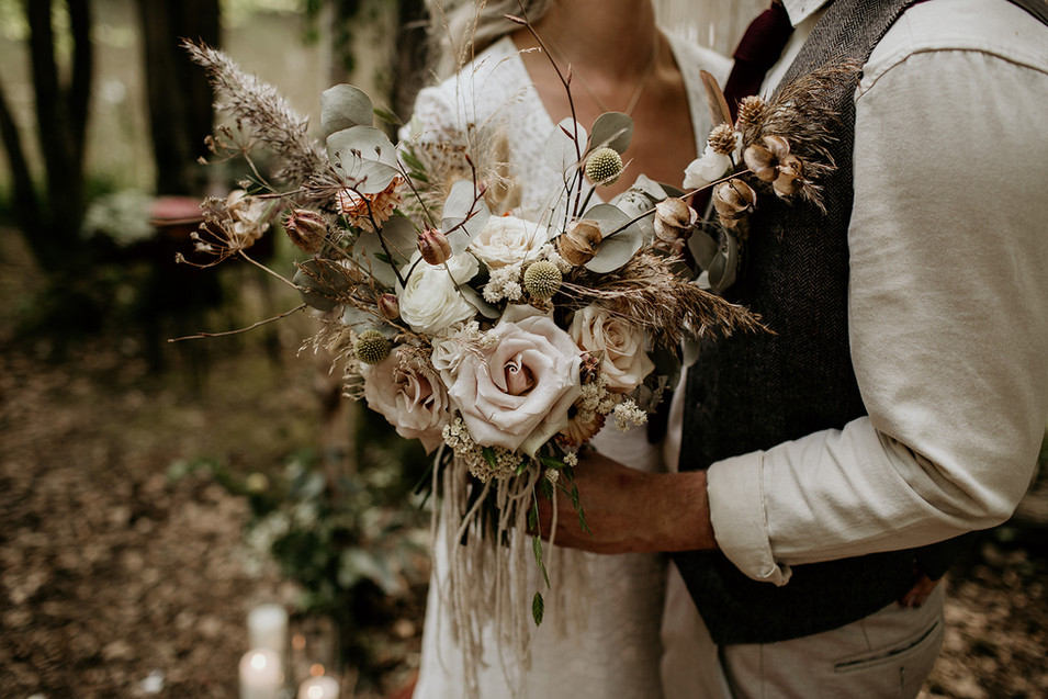 A fantastic example of the perfect woodland wedding bouquet!