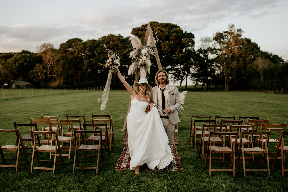 How about your ceremony out in the open and on your very own slice of exclusive, well maintained farmland here at Wickerwood Farm.