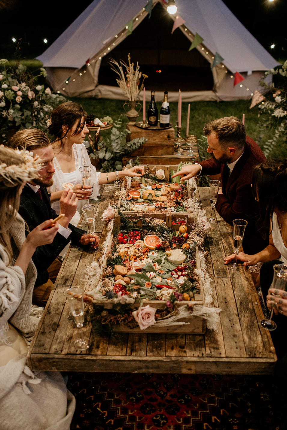 Grazing tables are such a lovely way to share with close friends and family!